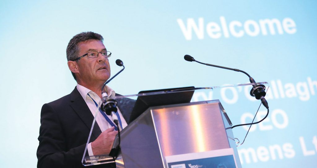 Gary O'Callaghan, chief executive, Siemens Ireland
