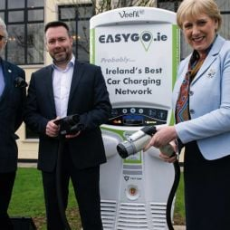 EasyGo launches electric car charger
