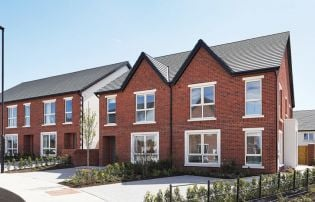 Leafy Naas new builds from €315k