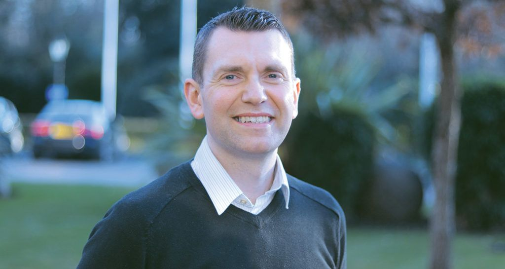 David Quinn, regional sales manager for Ireland and the UK at Oki Europe