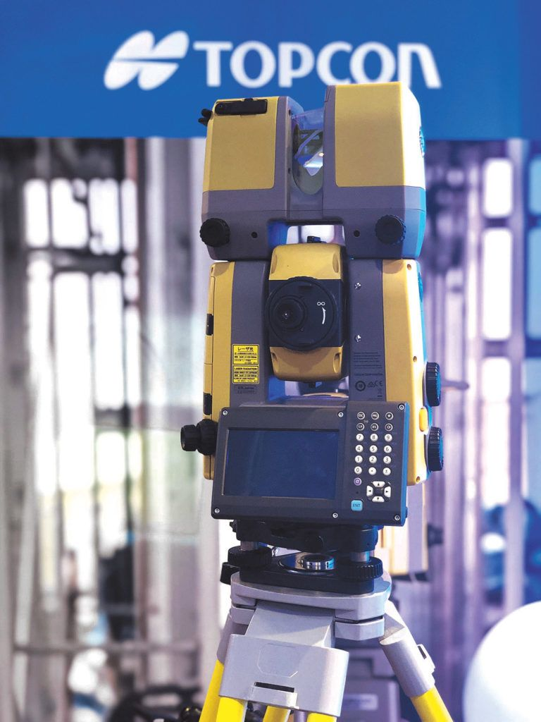 The Topcon GTL-1000 can help cut down mistakes on a project