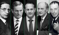 Portraits in Power: The 14 men who have led the nation