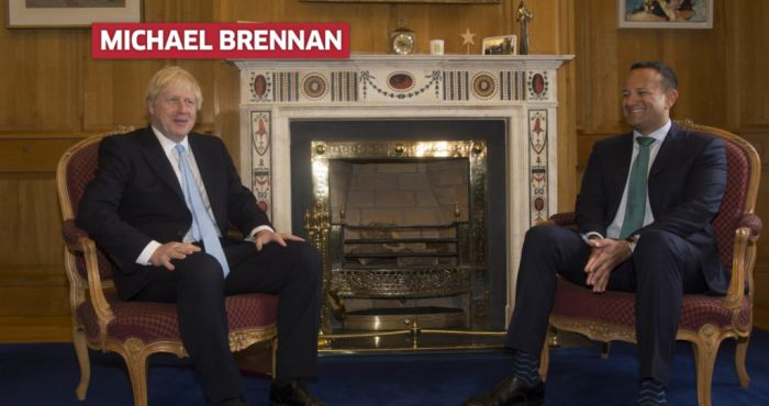 Shades of Comical Ali about Johnson's Irish visit