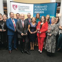 Gala evening celebrates best in Irish corporate reporting