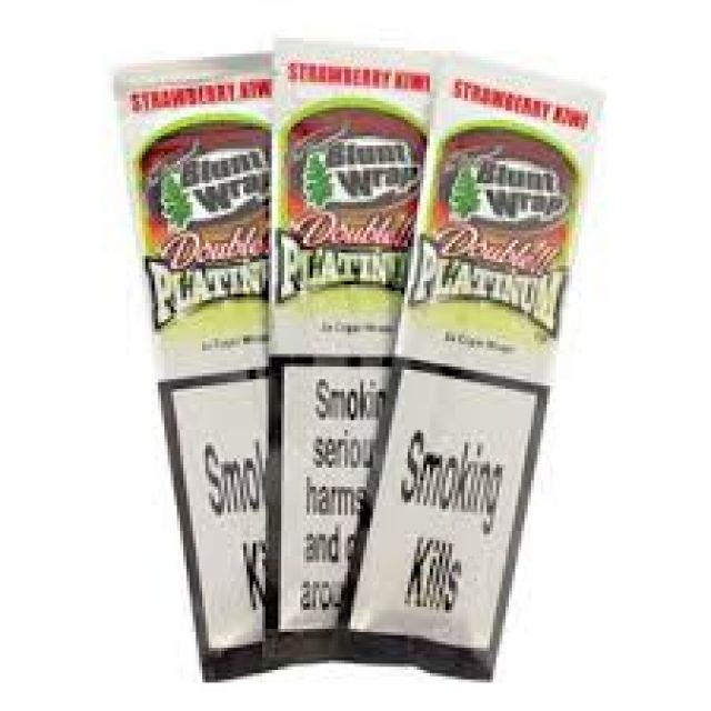 Double Platinum Blunt Wrap Red 2