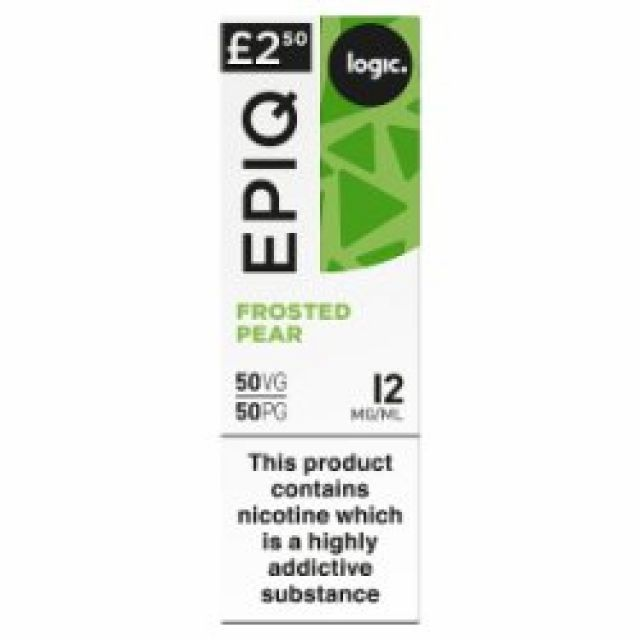 EPIQ Frosted Pear 12mg 10ml