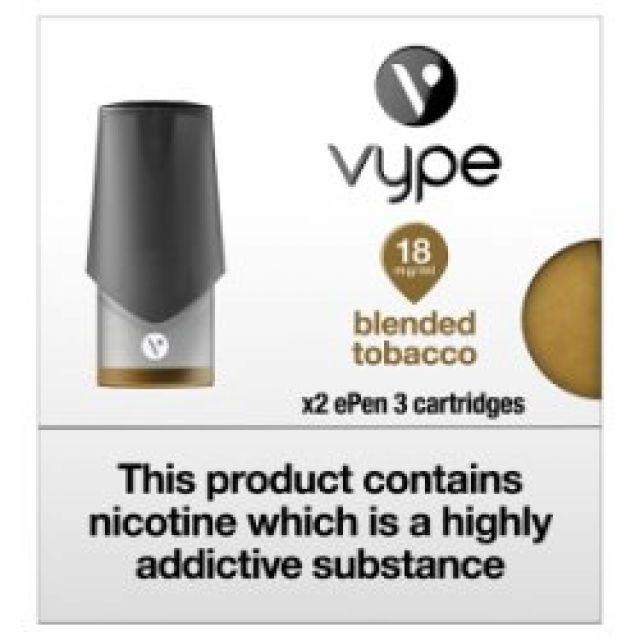 Vype Blended Tobacco 18mg 2