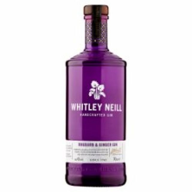 Whitley Neil Rhubarb & Ginger Gin (70cl)