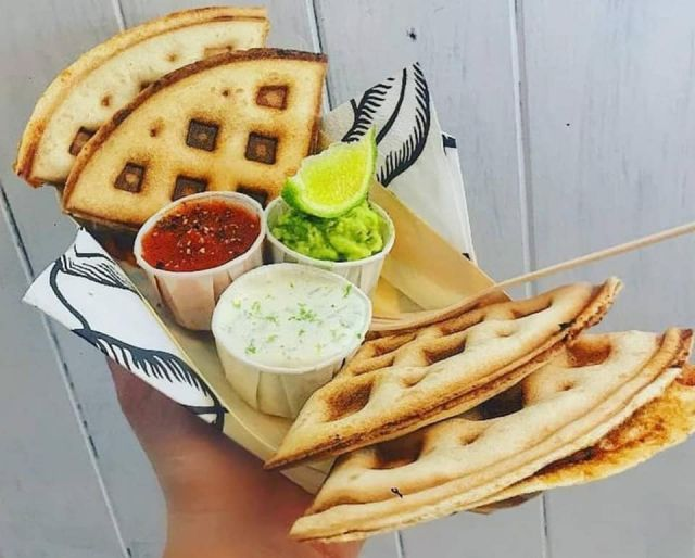 Mexican MONDAY Waffadilla (Vegan or Vegetarian/GF)
