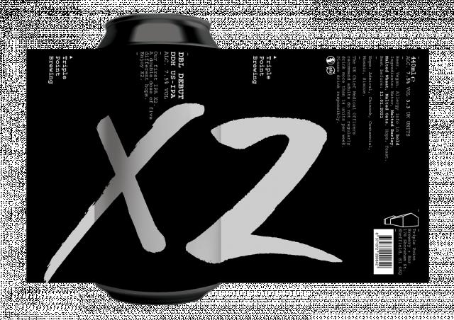 X2 (Dbl Debut) 6x440ml