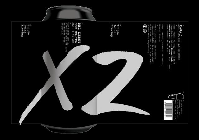 X2 (Dbl Debut) 12x440ml
