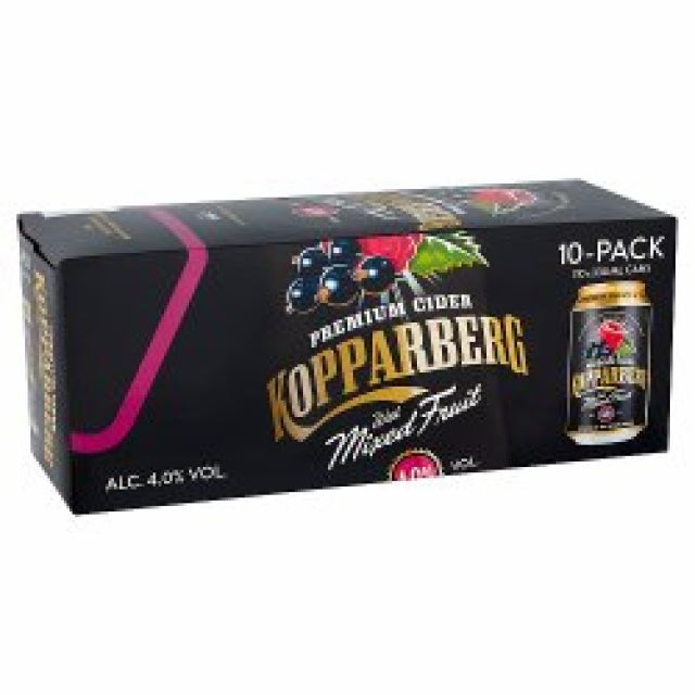 Kopparberg Mixed Fruits MULTIPACK 10 x 330ml Cans