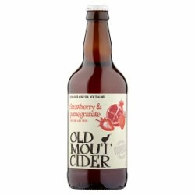 Old Mout Strawberry & Pomegranate 1 x 500ml Bottle