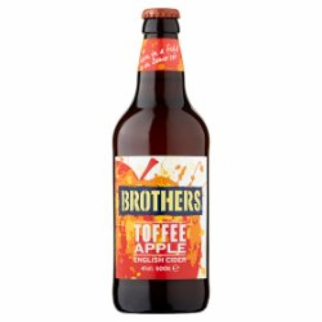 Brothers Toffee Apple 1 x 500ml Bottle
