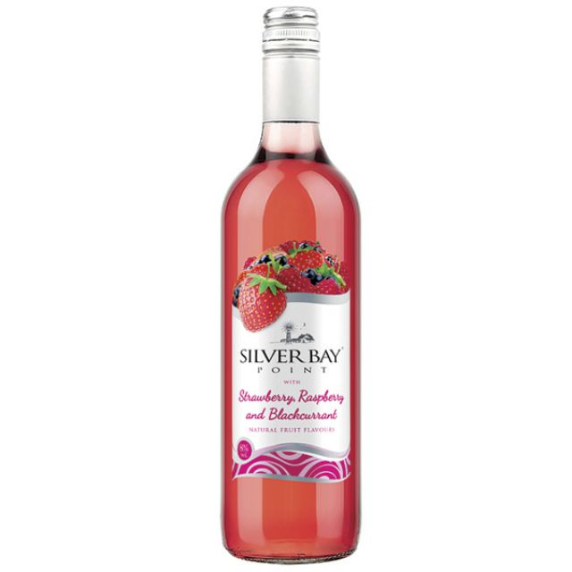 Silver Bay Point Strawberry Raspberry Blackcurrant 75cl