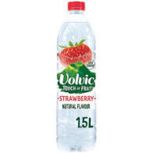 Volvic Strawberry Mineral Water 1x 1.5ltr