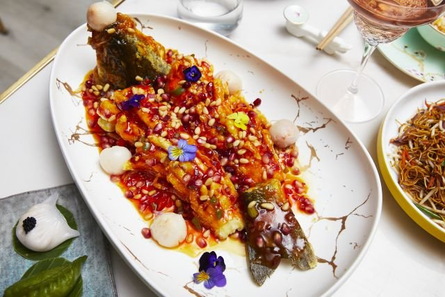 Lychee Sweet & Sour Whole Seabass