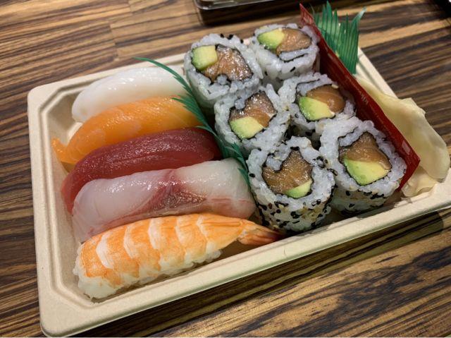 Mixed Sushi Selection
