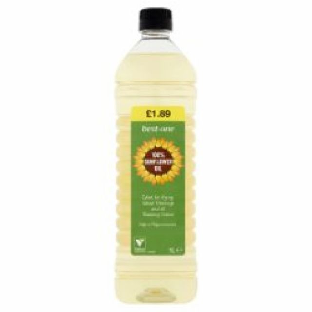 Cooking Oil Sunflower 1ltr