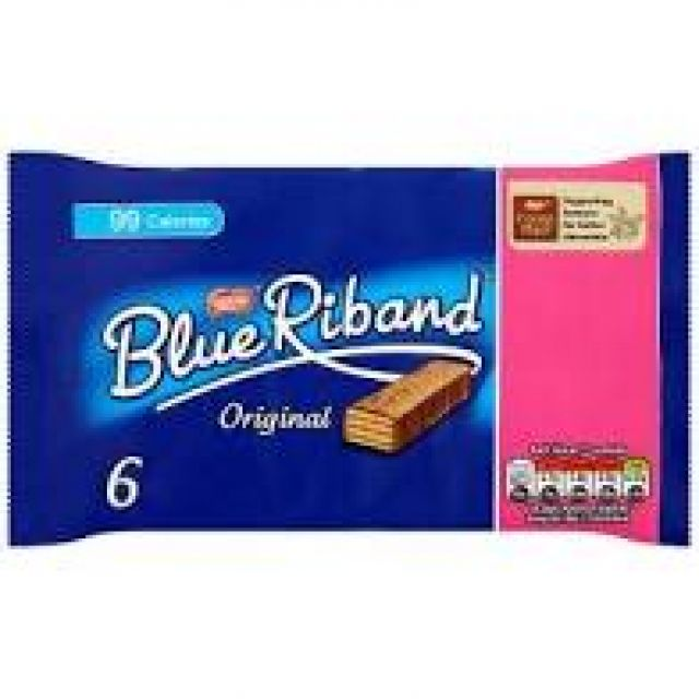 Blue Riband 6 Pack 108g
