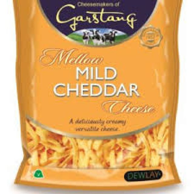 Red Grated Cheddar 200g