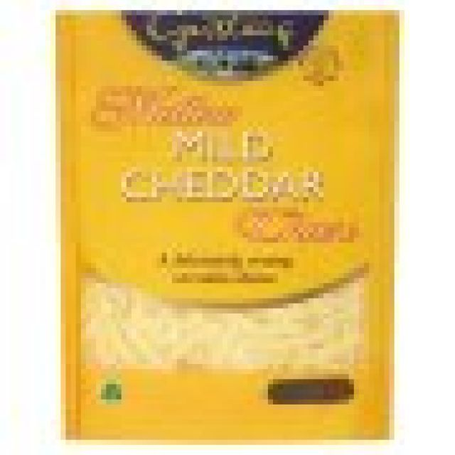 White Grated Cheddar 200g