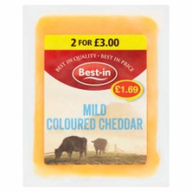 Best One Mild Coloured Cheddar 200g