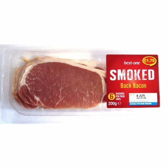 Best One Smoked Bacon 200g