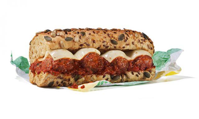 """Vegan Meatball Marinara 12"""""""