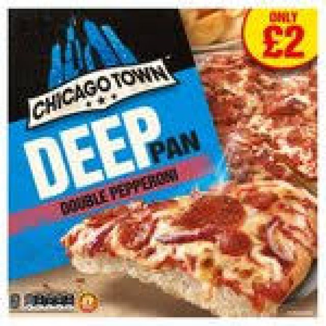 Chicago Town Deep Pan Double Pepperoni Pizza
