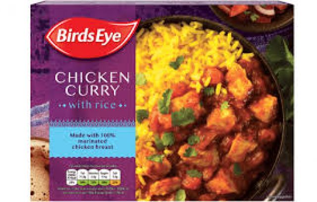 Birds Eye Chicken Curry With Rice