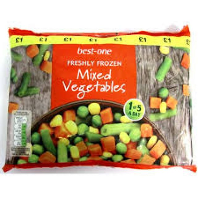 Best One Mixed Vegetables 500g
