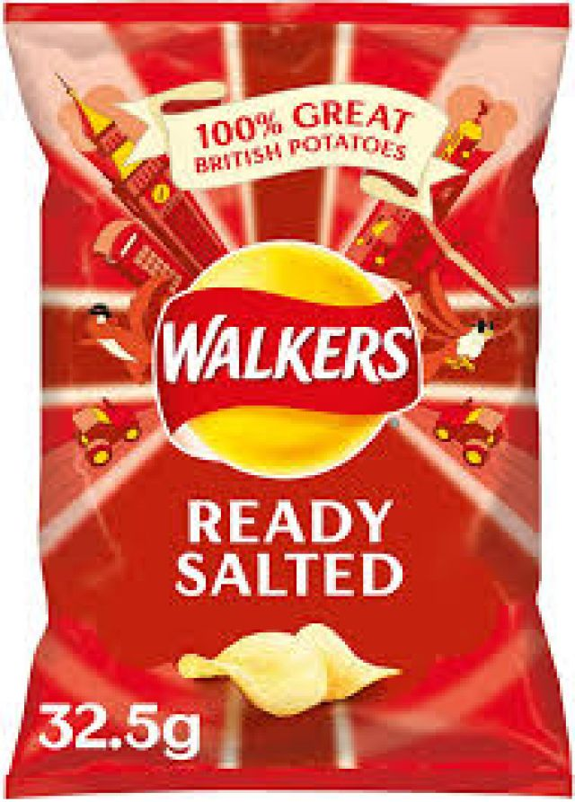 Walkers Ready Salted 1x70g