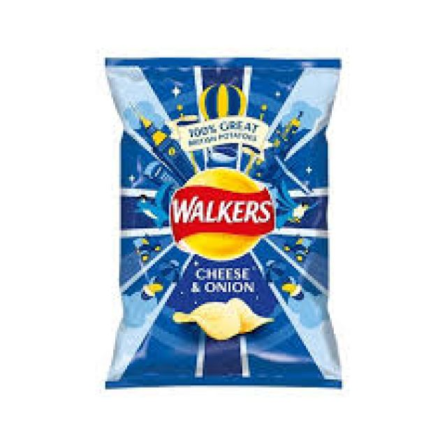 Walkers Cheese & Onion 1x70g