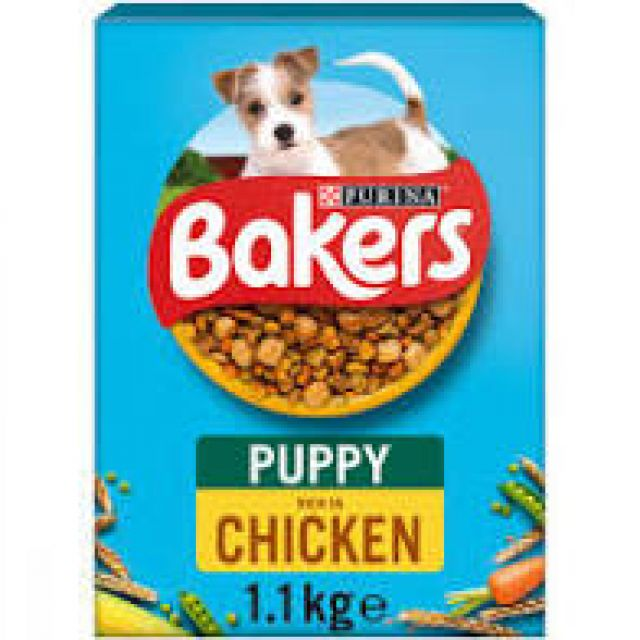 Bakers Puppy Complete Chicken Box 1.1kg