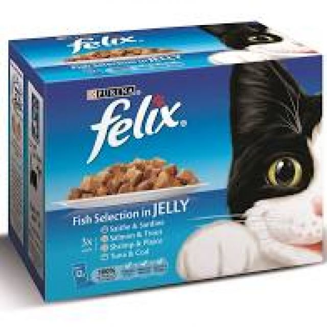 Felix Pouches Fish Selection In Jelly