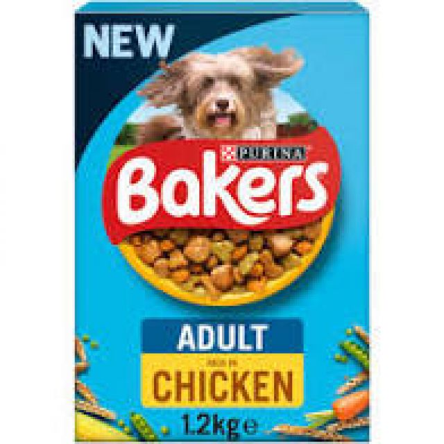 Bakers Adult Complete Chicken Box 1Kg