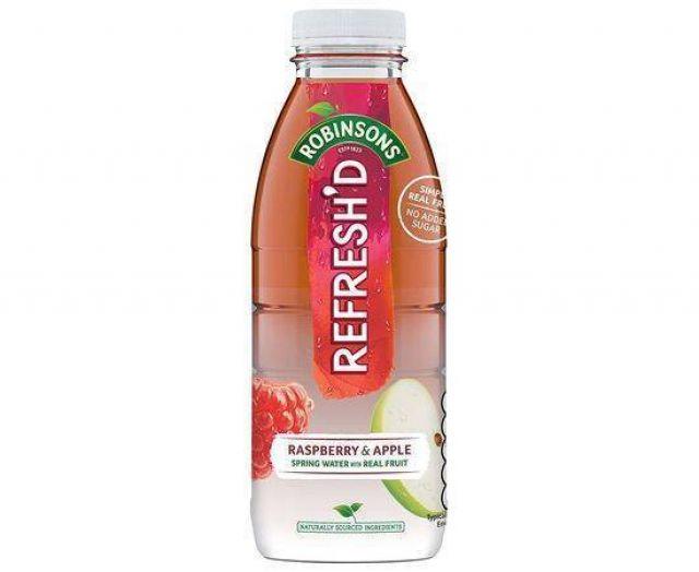 Robinson's Refresh'd Raspberry & Apple 500ml Bottle