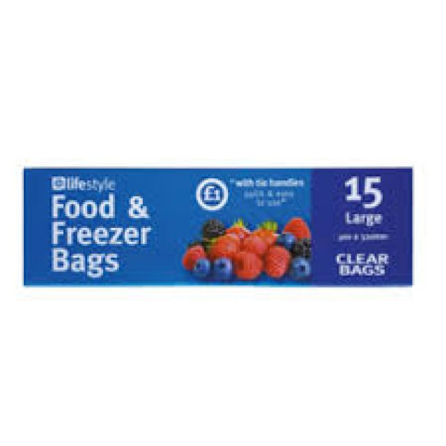 Food Bags Large 15