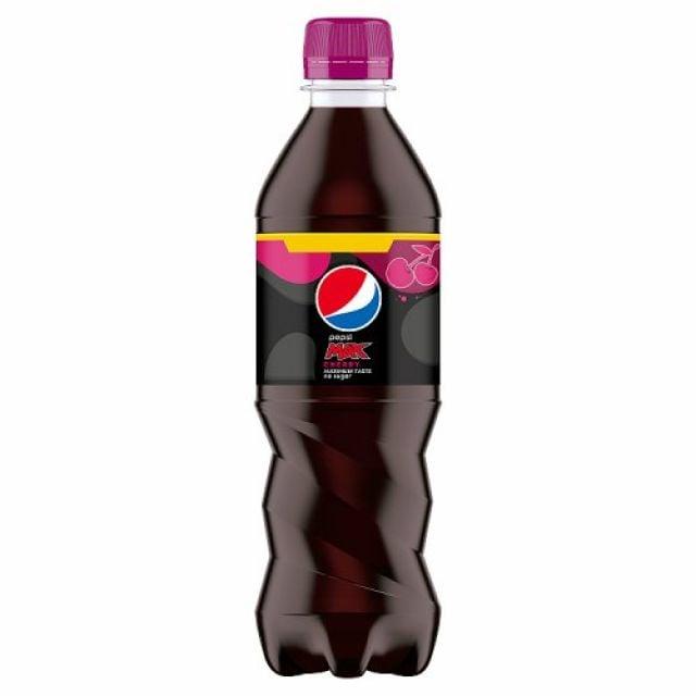 Pepsi Max Cherry 500ml Bottle