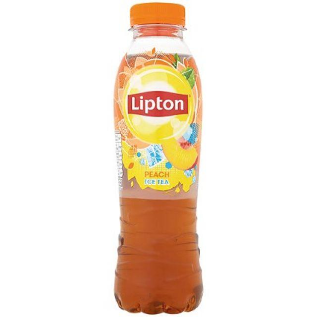 Liptons Peach Tea 500ml Bottle
