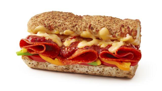"Cheesy Pepperoni 12"""