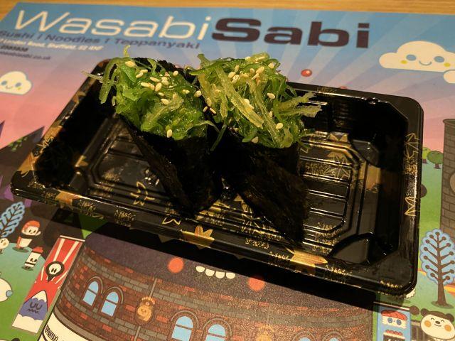 474)Seaweeds Gunkan Nigiri