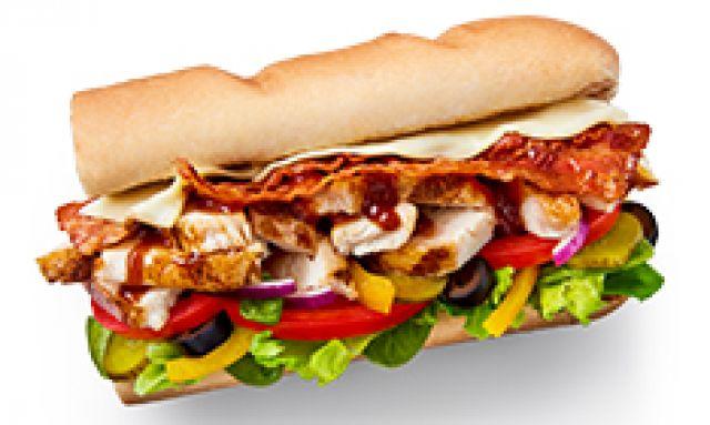 """Chicken & Bacon Melt 6"""""""