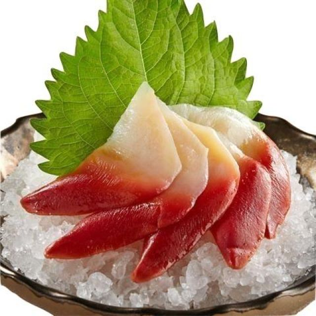 109) HOKKIGAL SASHIMI ( 4 PIECES)