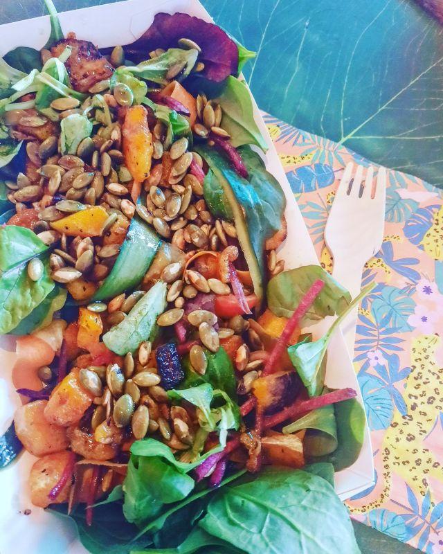 Autumn Sunset Salad