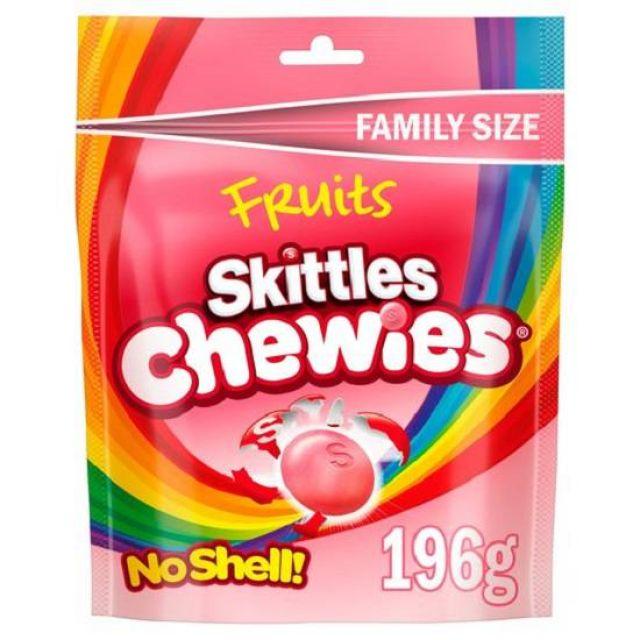 Skittles Fruits Chewies (No shell!!) 196g