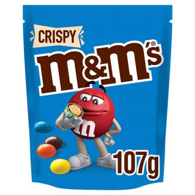 M&Ms Crispy 107g