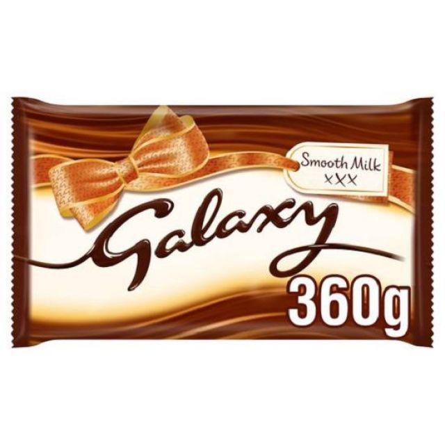 Galaxy Smooth Milk Chocolate Block 360g