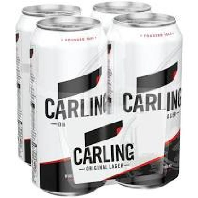 Carling 4x440ml cans